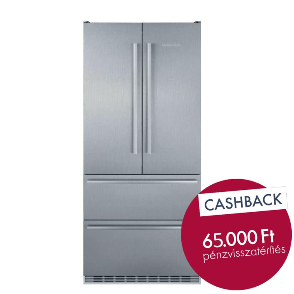inox hűtőszekrény